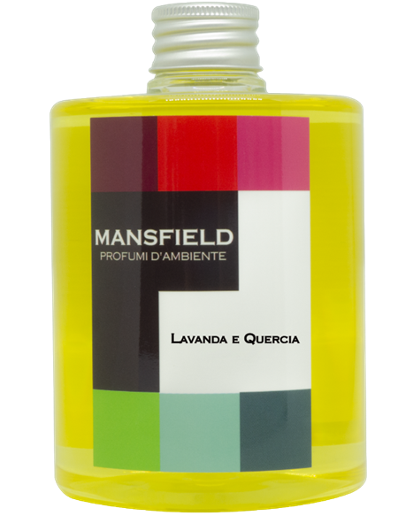 MANPALAVAREF - REFILL 500 ML LAVANDA E QUERCIA CON BASTONCINI REFILL 500 ML LAVANDA E QUERCIA